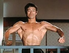 bruce lee muscles